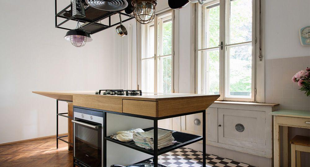 Apartamento S. Arquitectura interior en armonía con un elemento común