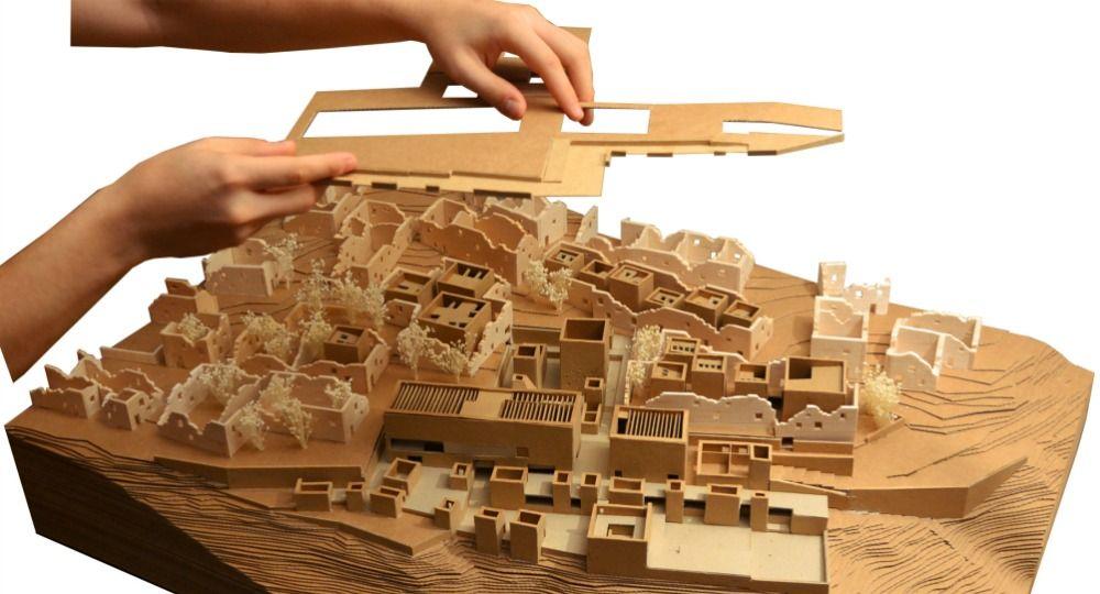 Tiermas. 2º Premio del II Concurso PFC Arquitectura y Empresa