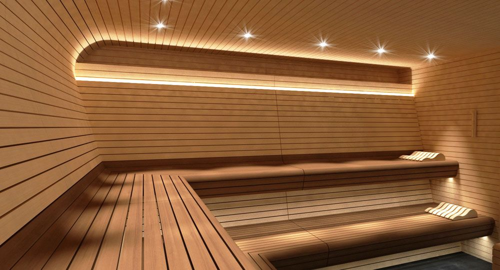 Sauna Zurich de INBECA Wellness Equipment