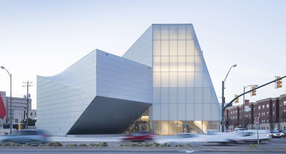 El nuevo Instituto de Arte Contemporáneo de la Universidad de Virginia, un proyecto de Steven Holl Architects