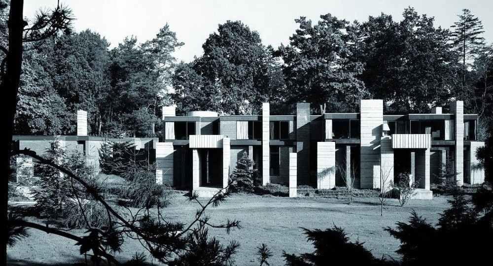 Neoplasticismo brutalista: la maison Urvater de André Jacqmain