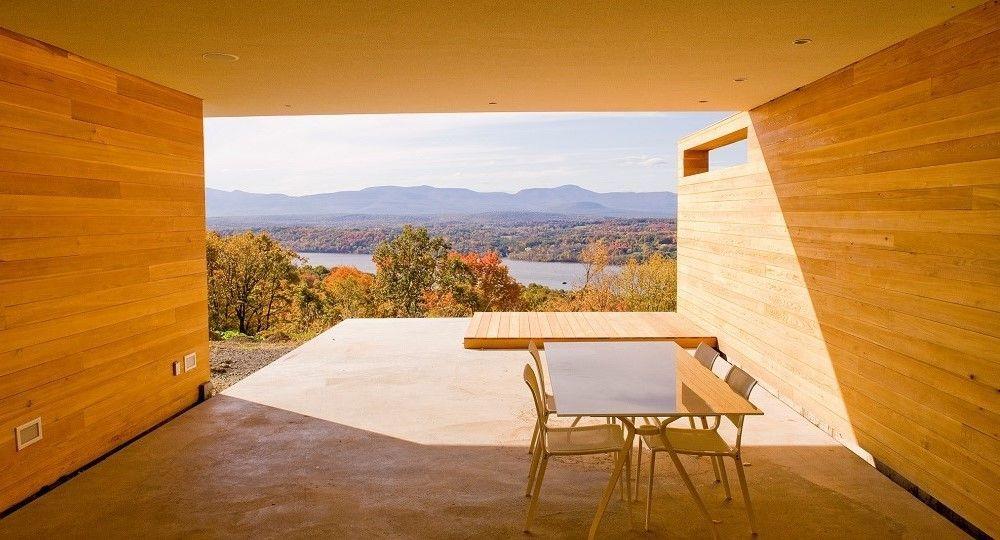 Contemplar el paisaje: la arquitectura residencial de Joel Sanders
