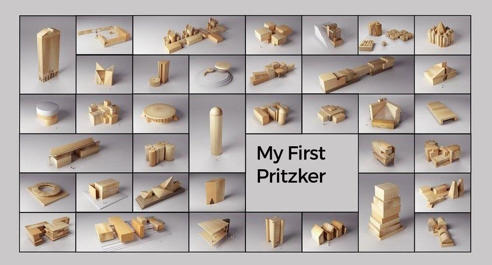 Jugar con la arquitectura, My first Pritzker de Andrea Stinga