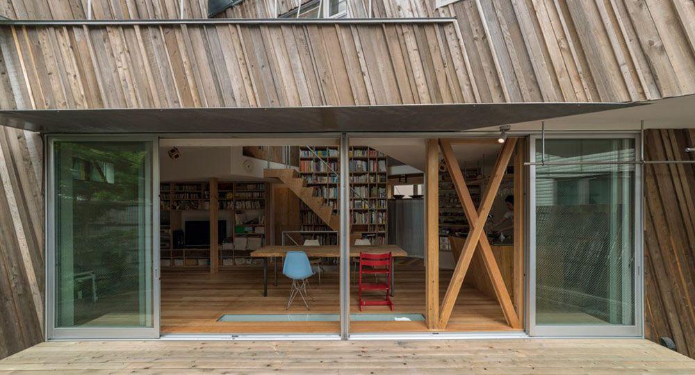 Kyodo House, arquitectura unifamiliar sostenible. Sandwich arquitectos.