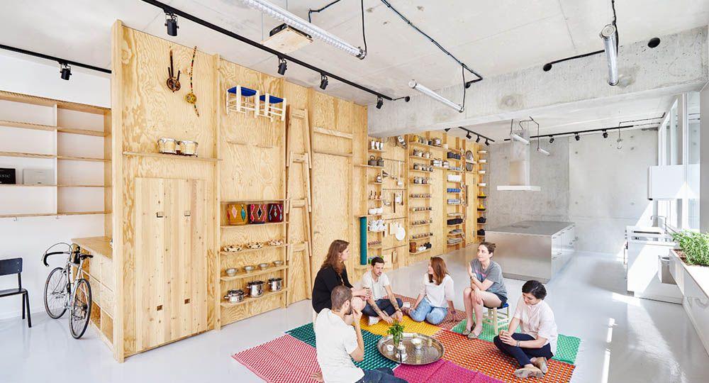 Kialatok, un nuevo espacio culinario, multicultural y plurifuncional en París. Septembre Architecture