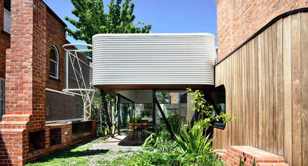 King Bill, arquitectura ecléctica y sostenible en Fitzroy, Melbourne. Maynard Architects