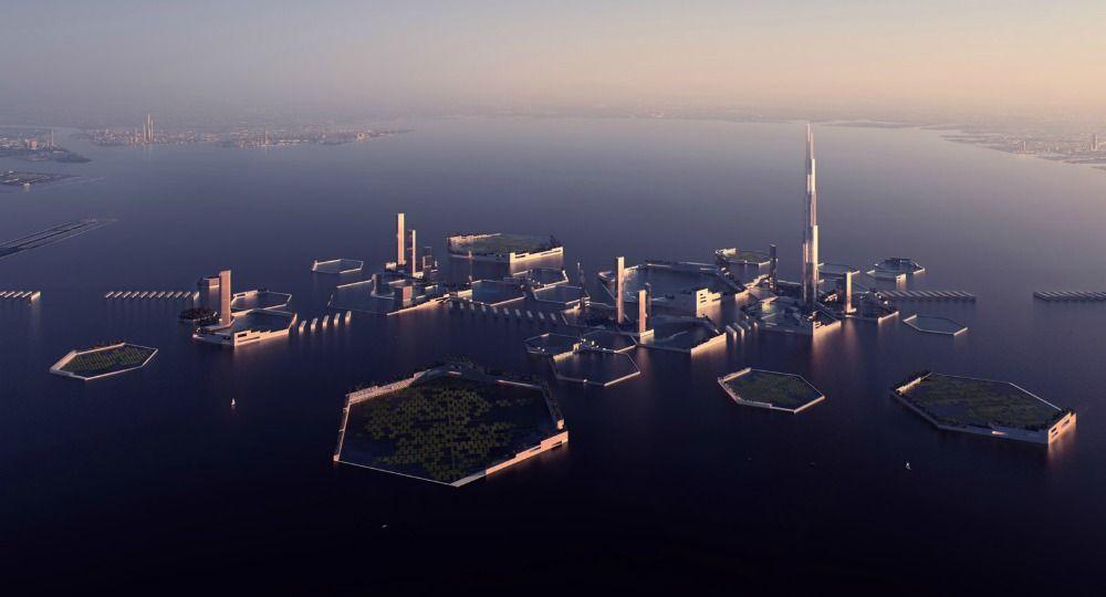 Desarrollo vertical del nuevo mundo. Proyecto Next Tokio 2045