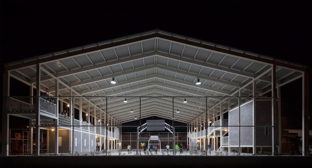 La Cancha de Rozana Montiel, arquitectura para el espacio público