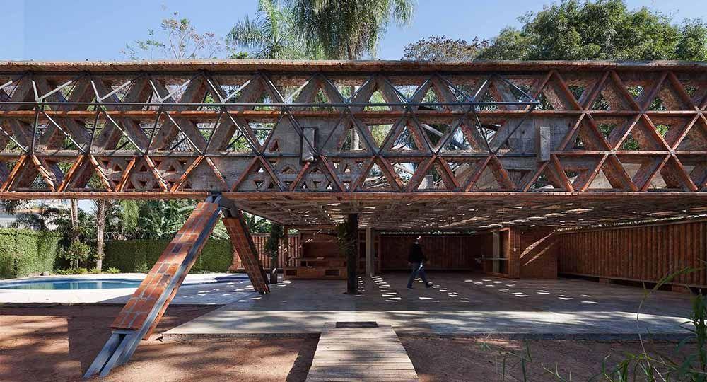 Tecnología del ladrillo en la arquitectura contemporánea. Gabinete de arquitectura.