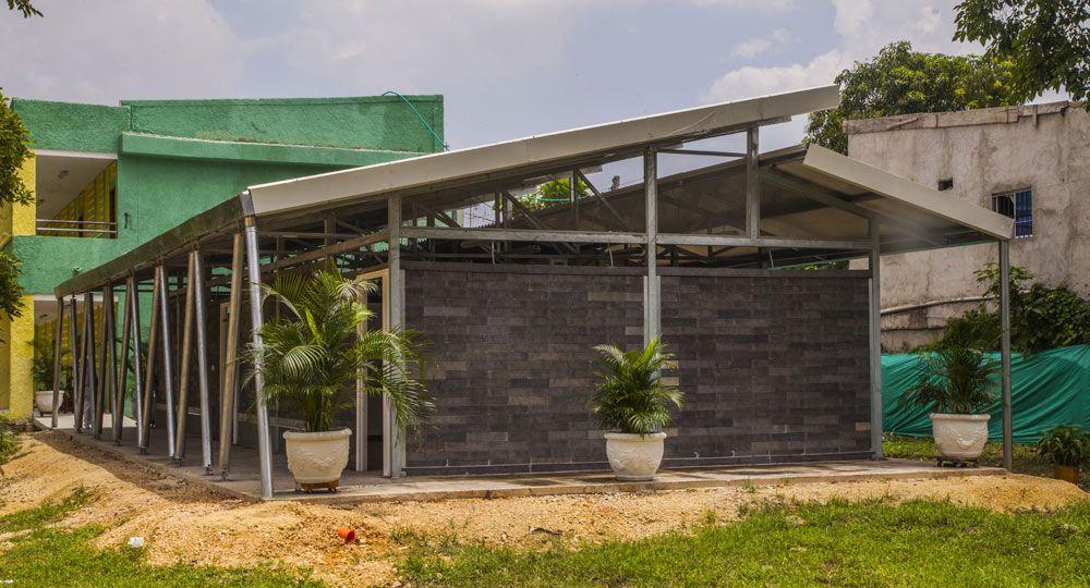 Arquitectura sostenible: Ladrillos de plástico reciclados