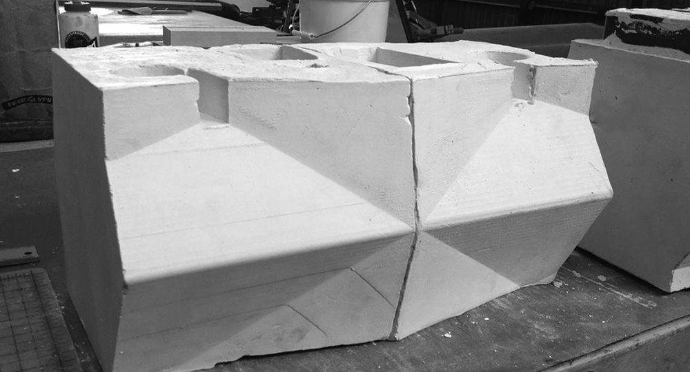 Breathe Bricks, bloques de hormigón visto que purifican el aire exterior.