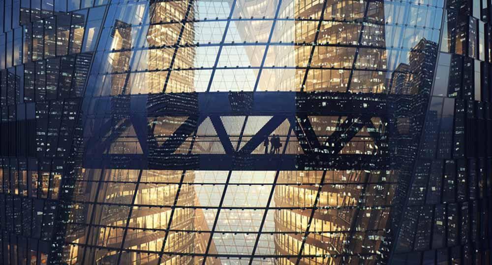 Leeza Soho, el último rascacielos de Zaha Hadid Architects en Beijing.