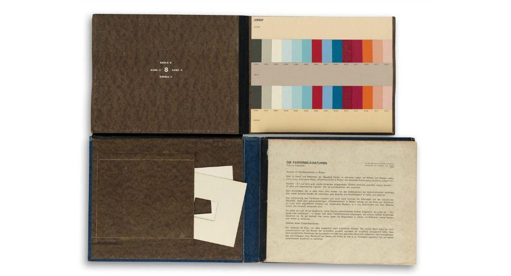 Libro Pop-Up de Le Corbusier. Teorías del color en la arquitectura