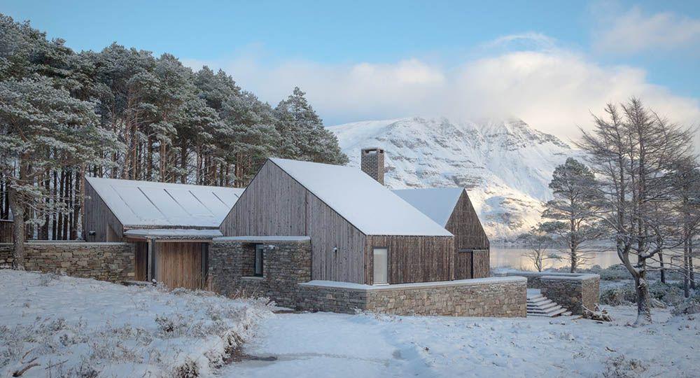 La casa del año según los RIBA 2018. Lochside House, un retiro escocés de Haysom Ward Miller Architects.