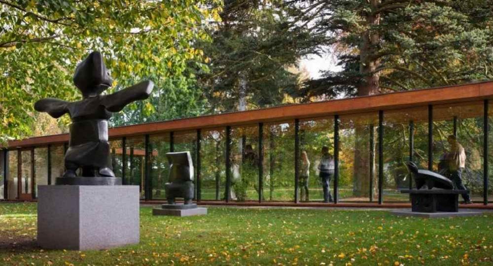 Arte, arquitectura y paisaje: Museo Louisiana de Jørgen Bo y Vilhelm Wohlert