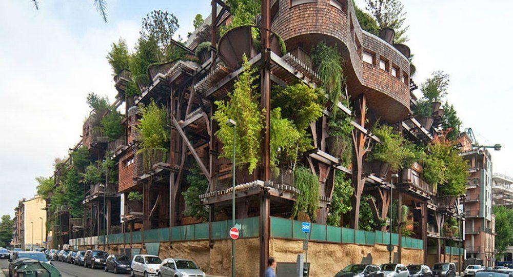 La Casa Árbol de Luciano Pia. Arquitectura verde y sostenible