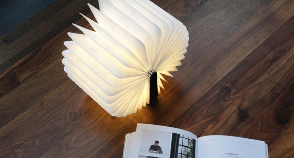 Lumio, la lámpara libro portátil