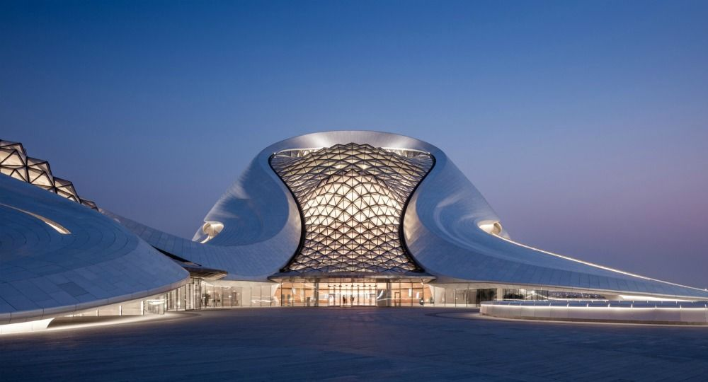 MAD Architects. Proyecto Harbin Opera House
