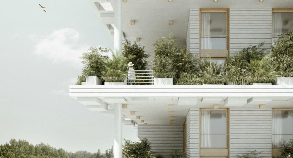 Jardines hasta el cielo. Proyecto Magic Breeze de Penda Architecture