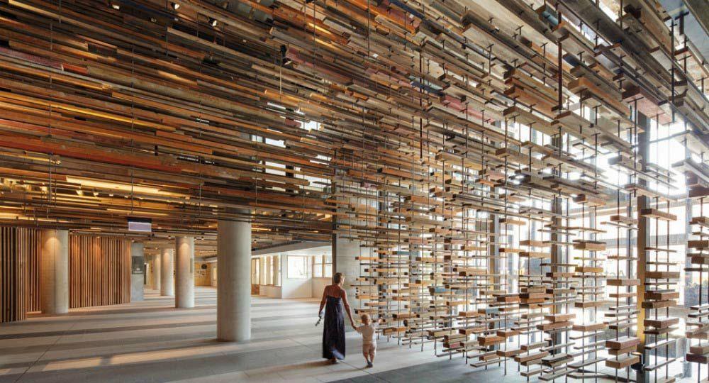 Arquitectura ecológica. Materiales recuperados para espacios de lujo