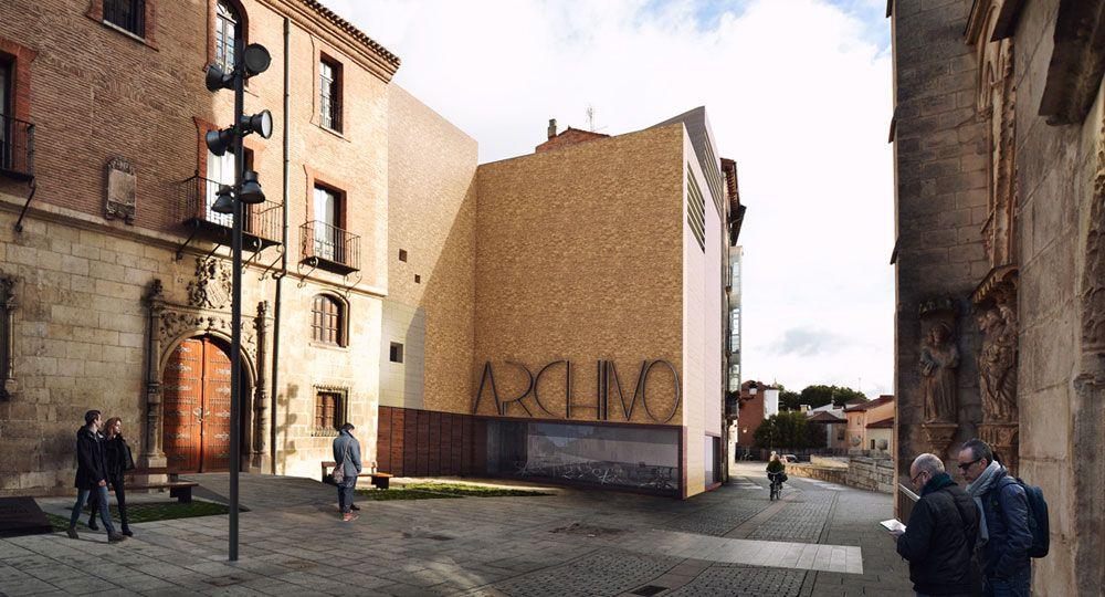 Contell-Martinez Arquitectos: ampliación del Palacio de Castilfalé