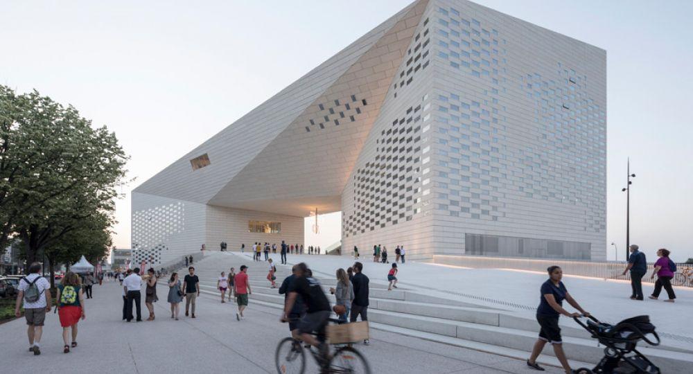La arquitectura de BIG para el nuevo centro cultural MÉCA de Burdeos