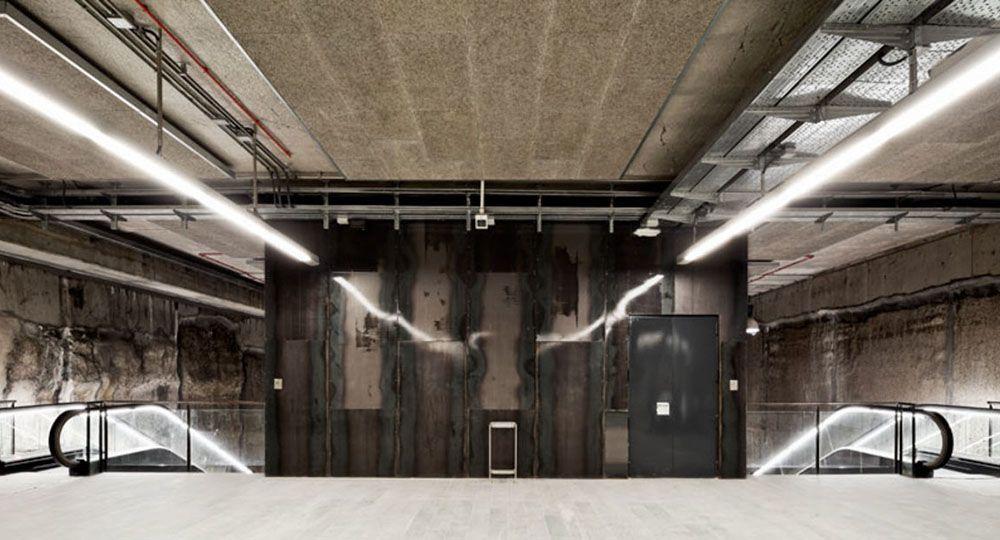 3 estaciones en la L9 del metro de Barcelona. Garcés De Seta Bonet Arquitectes.
