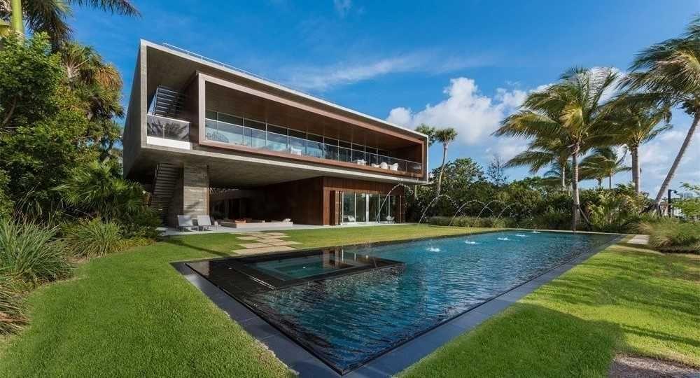 Vivir en el lujo. Casa en Miami Beach de Studio MK-27