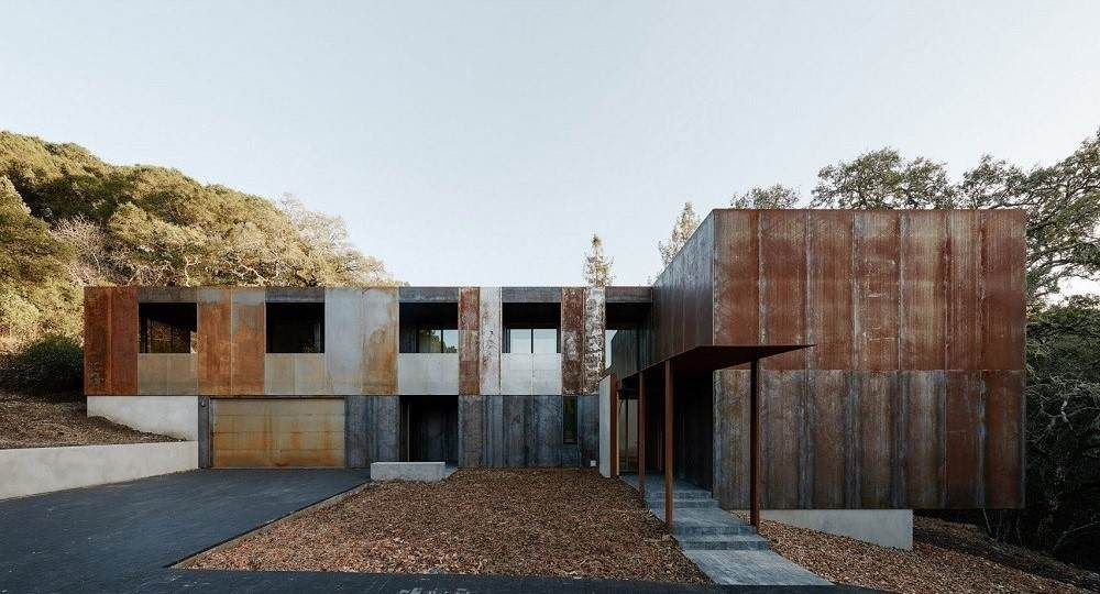 Vivir en los árboles: Miner Road House, de Faulkner Architects