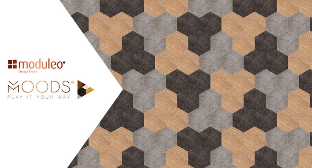 Moduleo presenta Moods: luxury vinyl flooring