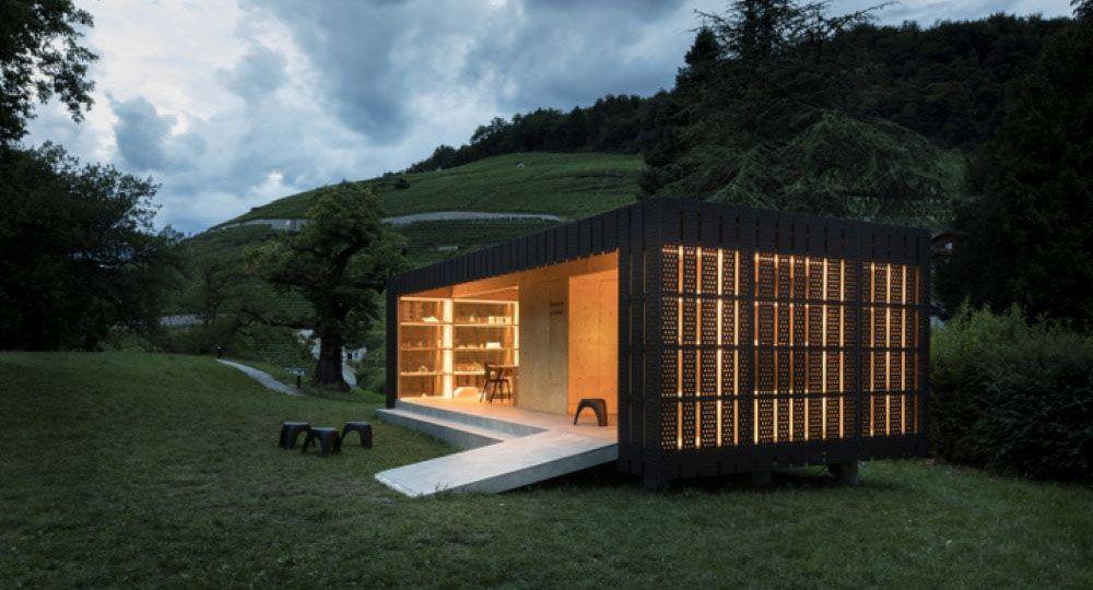 Arquitectura temporal sostenible: pabellón para la trienal de escultura BEX & ARTS 2017, Montalba Architects.