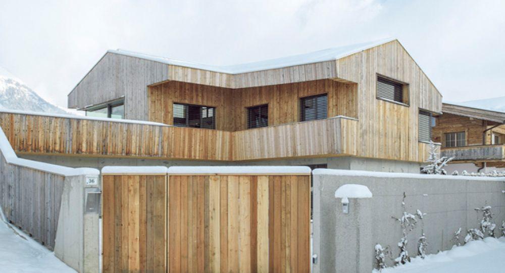 Arquitectura Alpina, la vivienda granero de Mostlikely