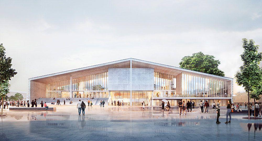 Los arquitectos Herzog & de Meuron presentan el proyecto para el Museo del siglo XX de Berlín.