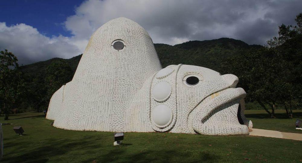 Arquitectura Museo del Cemi. Municipio de Jayuya. Puerto Rico