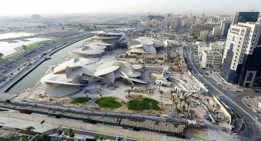 Museo Nacional de Catar, en Doha, por Ateliers Jean Nouvel