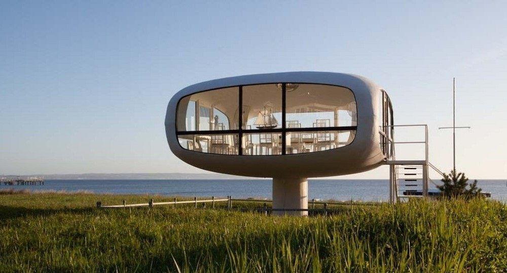 Arquitectura en la Alemania Oriental: las estructuras laminares de Ulrich Müther