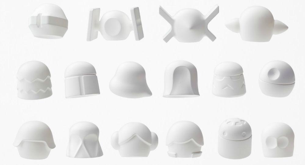 Star Wars según Nendo Oki Sato