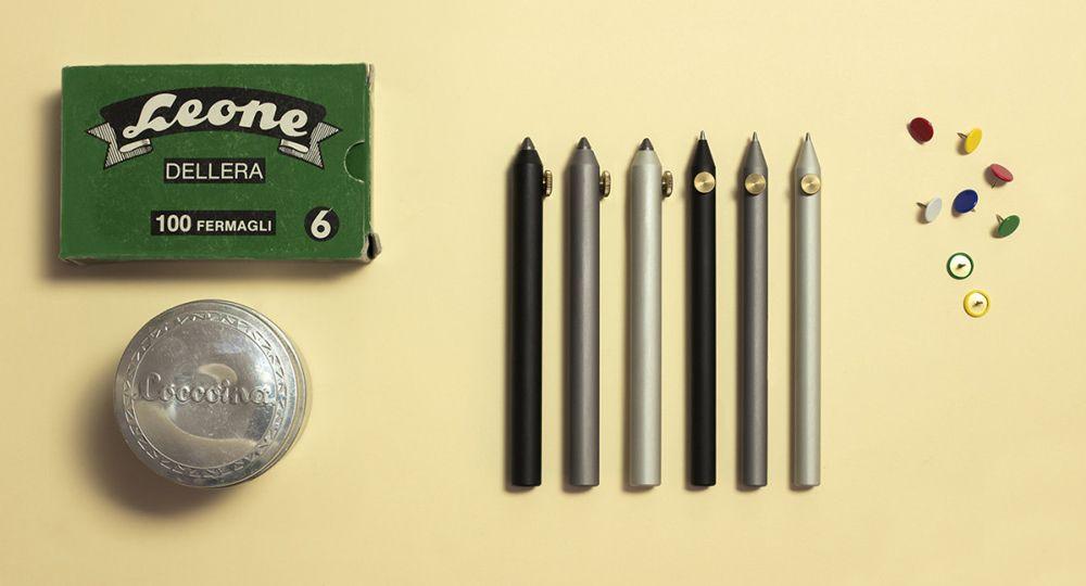 A la antigua usanza, bolígrafos y portaminas Neri