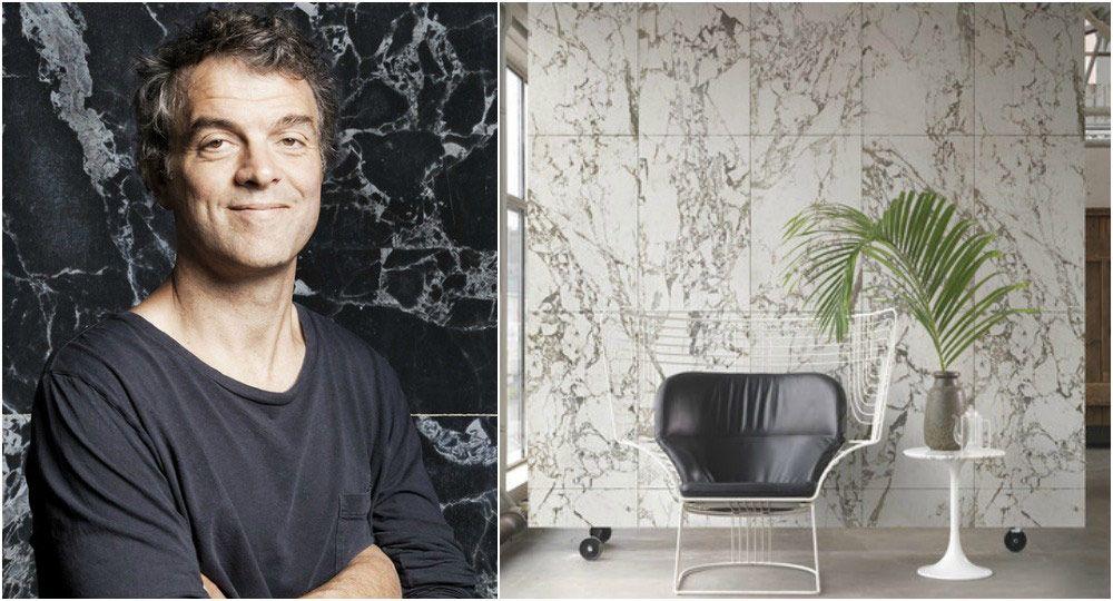 Nueva colección NLXL por Piet Hein Eek, papel decorativo realista