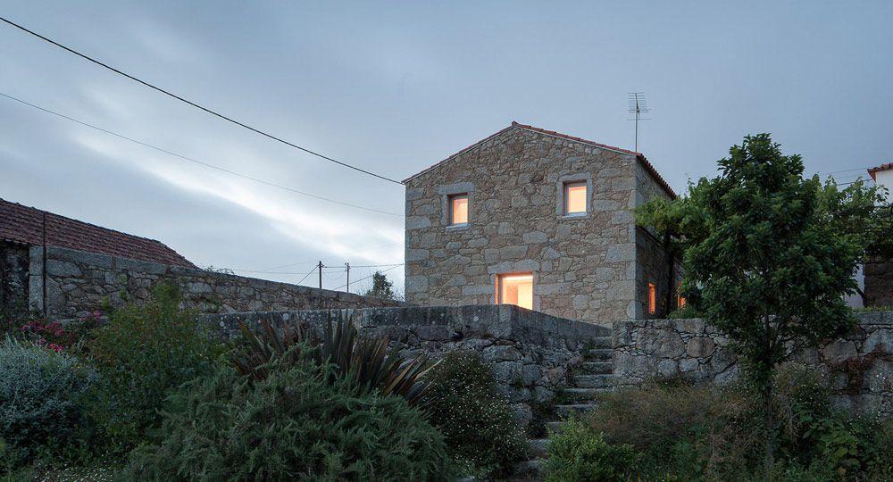 Casa das Nogueiras, un antiguo pajar convertido en vivienda unifamiliar