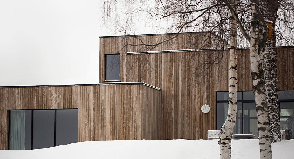 Casa Gjøvik, un refugio nórdico minimalista y acogedor.