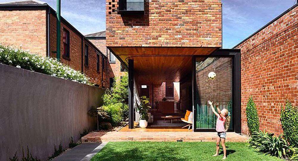 Arquitectura contemporánea y centro histórico. North Melbourne Terrace. Matt Gibson Architects.