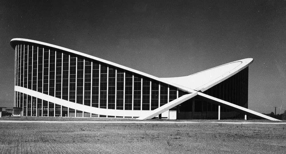 El legado arquitectónico de Matthew Nowicki: Dorton Arena
