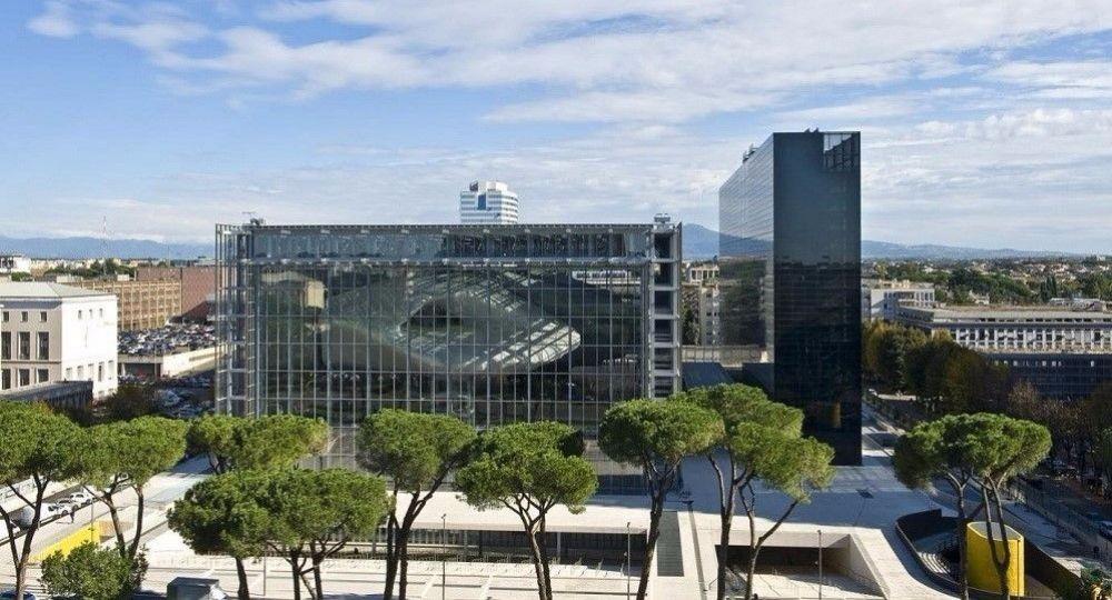 Una nube atrapada: Centro de Congresos EUR Roma de Studio Fuksas