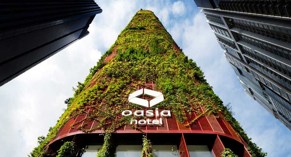 Espacios verdes en altura: The Oasia Downtown Tower