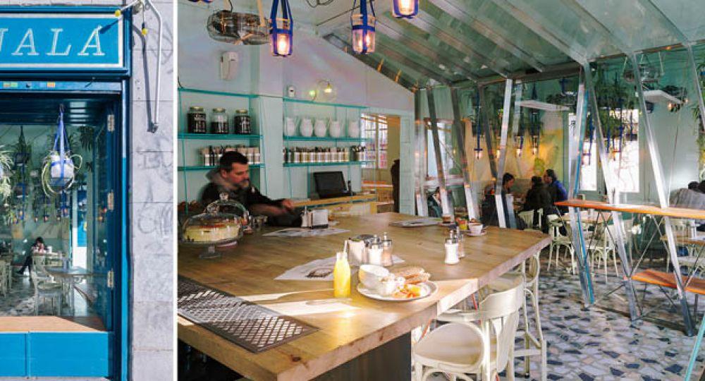 Una peque a playa en madrid ojal de andr s jaque for Restaurante escuela de arquitectos madrid