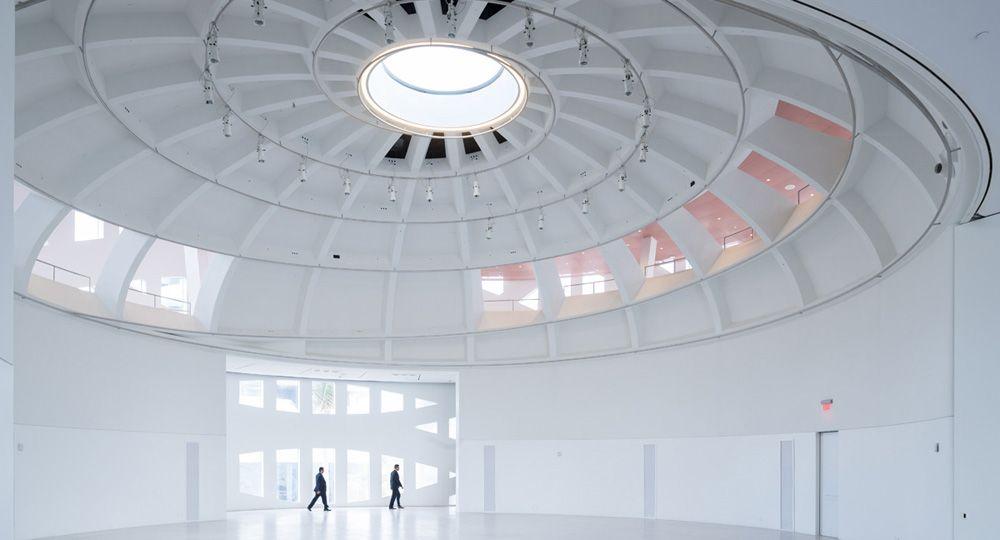 OMA Piel estructural de hormigón: Faena Forum en Miami