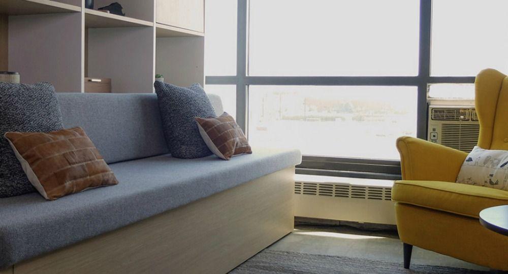 Mobiliario inteligente. Micro-apartamentos robotizados