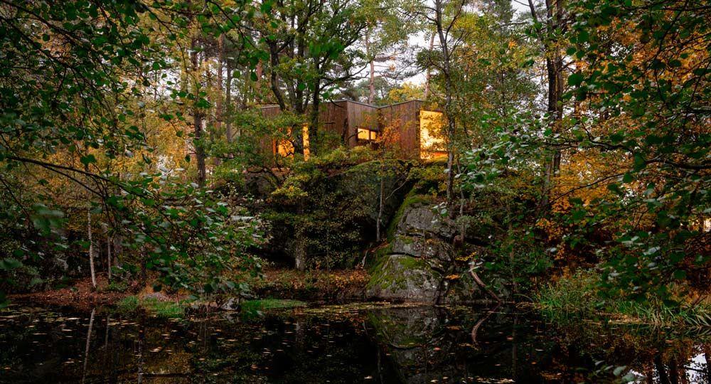 Arquitectura y naturaleza. El retiro de cuidado al aire libre de Snøhetta.