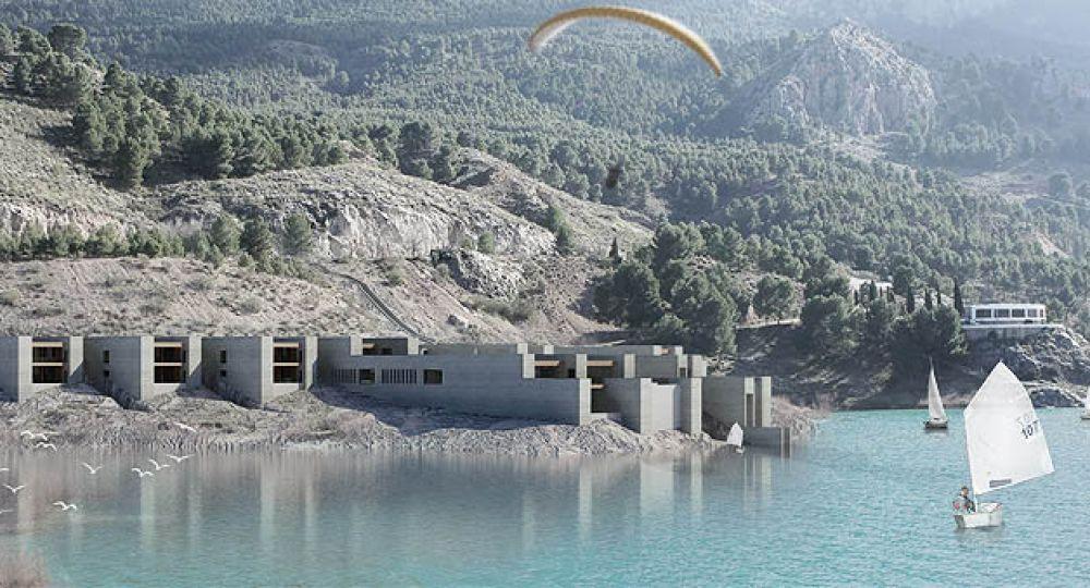 Paisajes de Límites Variables.  Proyecto finalista en el I Concurso PFC Arquitectura y Empresa